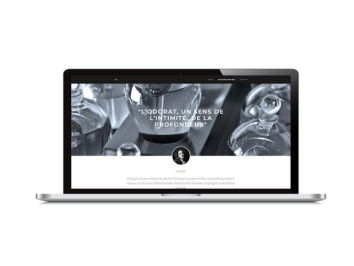 SITE internet du parfumeur-créateur vanina muracciole