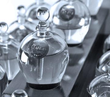 Création du site Internet d'un céateur parfumeur