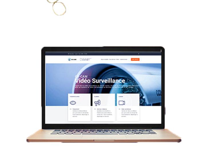Site pour CG-CAM, installateur vidéosurveillance et Alarme - Offre digitale TPE - WordPress