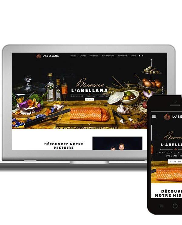 Réalisation du site Internet d'un chef à domicile à Lyon - WordPress - Agence de Hong-Kong