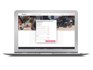 AMOA developpement assurance en ligne Trottinette électrique et NVEI pour l'assurtech Wizzas
