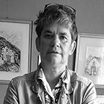 Nathalie Guérin, fondatrice de l'agence Com'etic en 2007. Dirige l'agence digitale