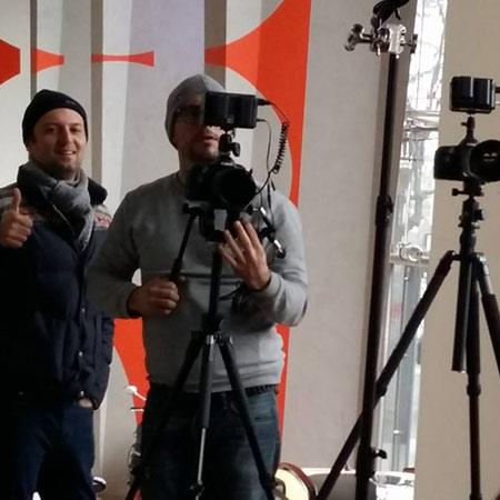Equipe de tournage films entreprise