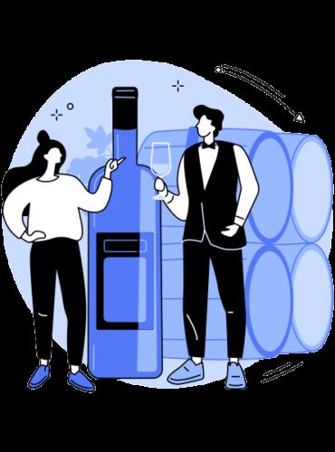 Com'etic agence digitale et webmarketing à Paris et Quimper accompagne les professionnels du vin dans leur stratégie digitale