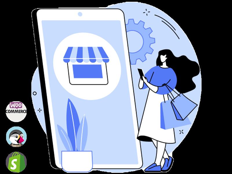 L'agence com'etic à Paris et Quimper conçoit et développevotre site Internet e-commerce sur mesure pour vendre vos produits et services en ligne