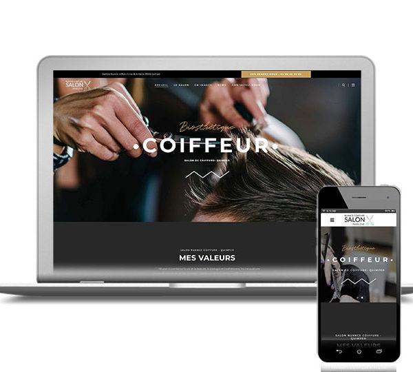 l'agence digitale com'etic basée à Quimper et Paris accompagne les salons de coiffure en créant leur site Internet et assure le content marketing pour plus de visibilité et SEO