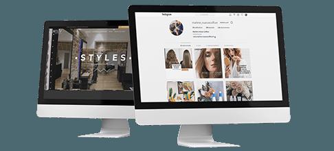 Com'etic agence digitale basée à Paris et Quimper (29) accompagne les salons de coiffures dans leur stratégie webmarketing