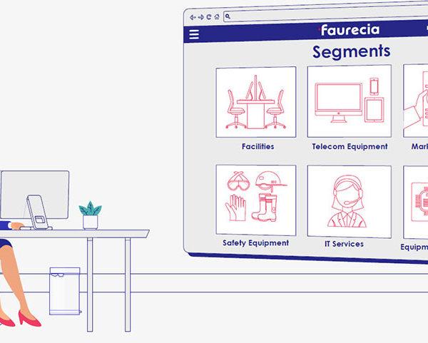 réalisation de video motion pour Faurecia