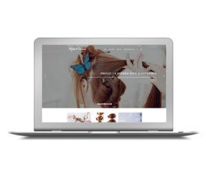 Site pour salon de coiffure à Paris - Offre digitale TPE - WordPress